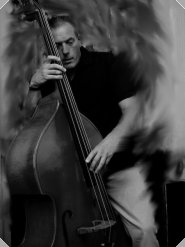Steve on double bass